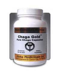 Chaga Gold - Balenie 90 kapsúl, 525 mg.